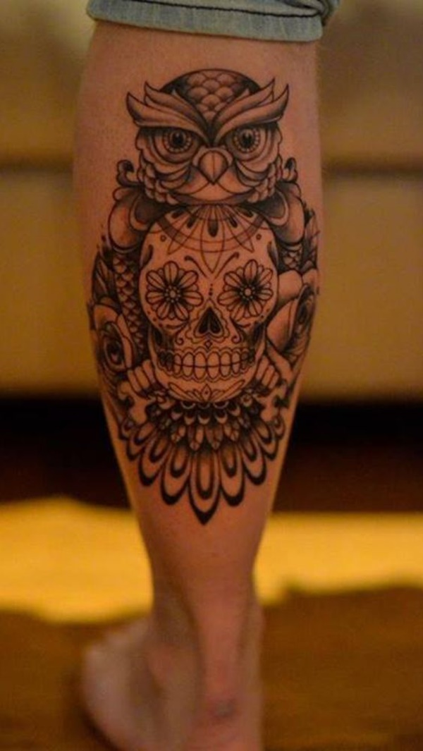 calf tattoo designs (10)