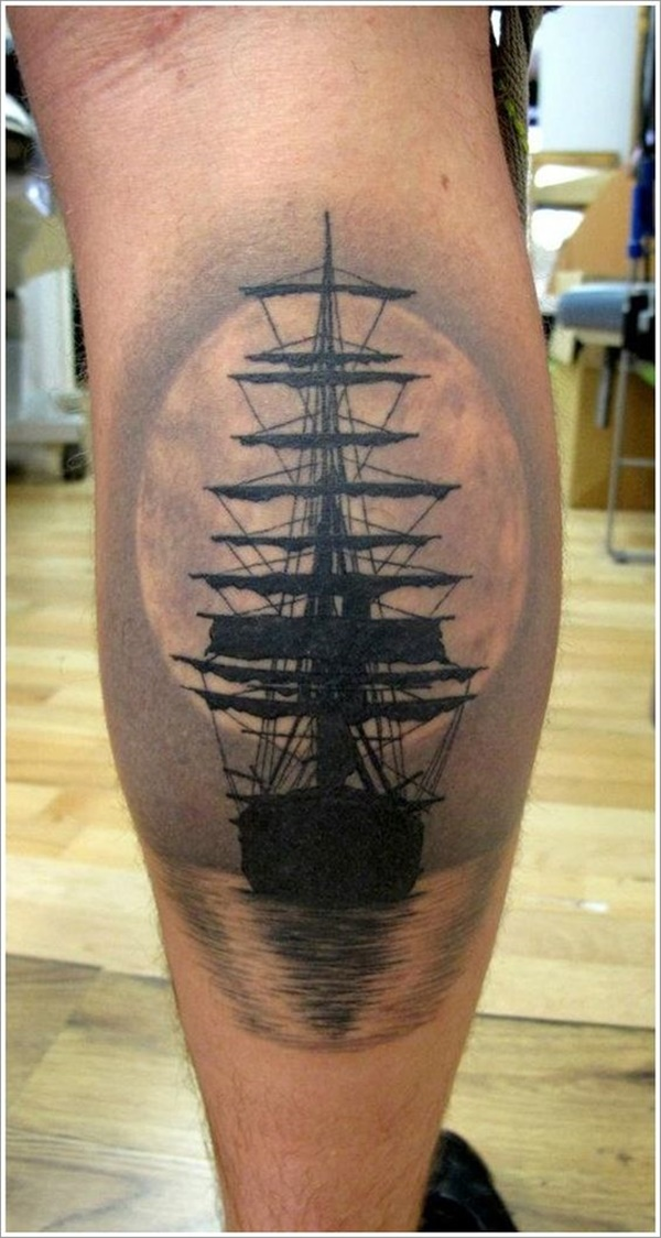 calf tattoo designs (33)
