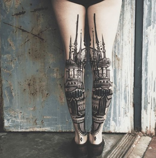 calf tattoo designs (9)