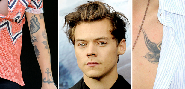 Harry Styles Tattoos 2018