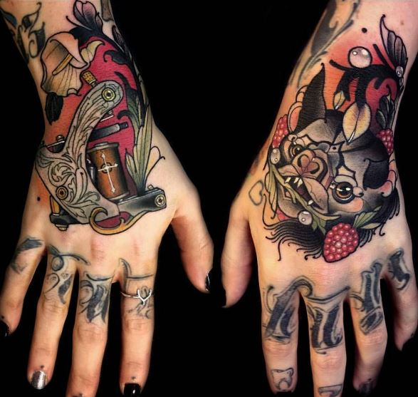 Couples Hand Tattoos