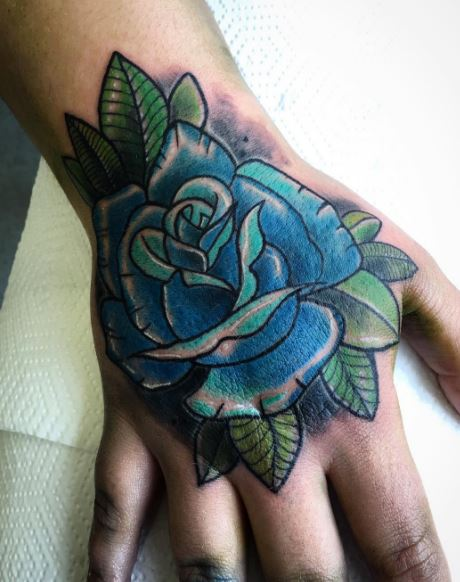 Flower Hand Tattoos
