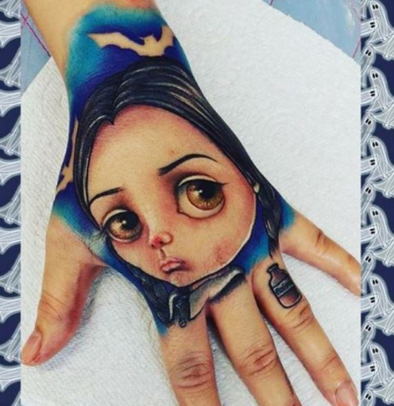 Hand Tattoos For Girls 1