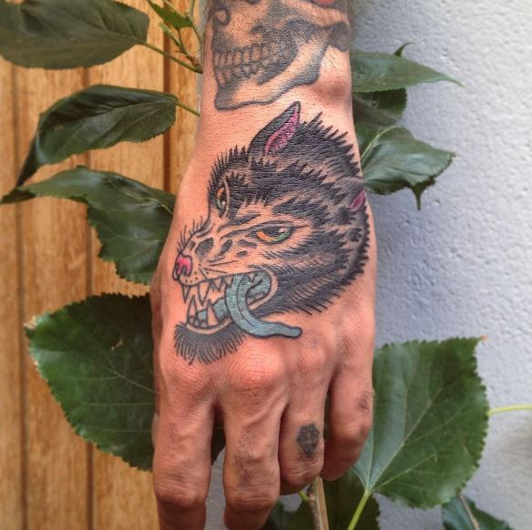 Pretty Hand Tattoos