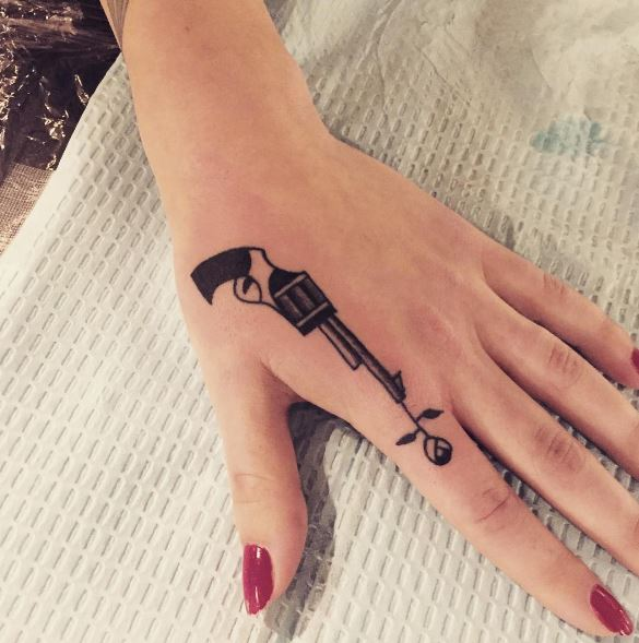 Side Hand Tattoos
