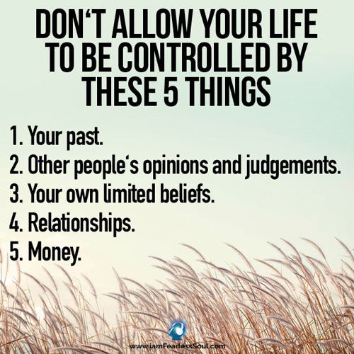 5 things allow controlled
