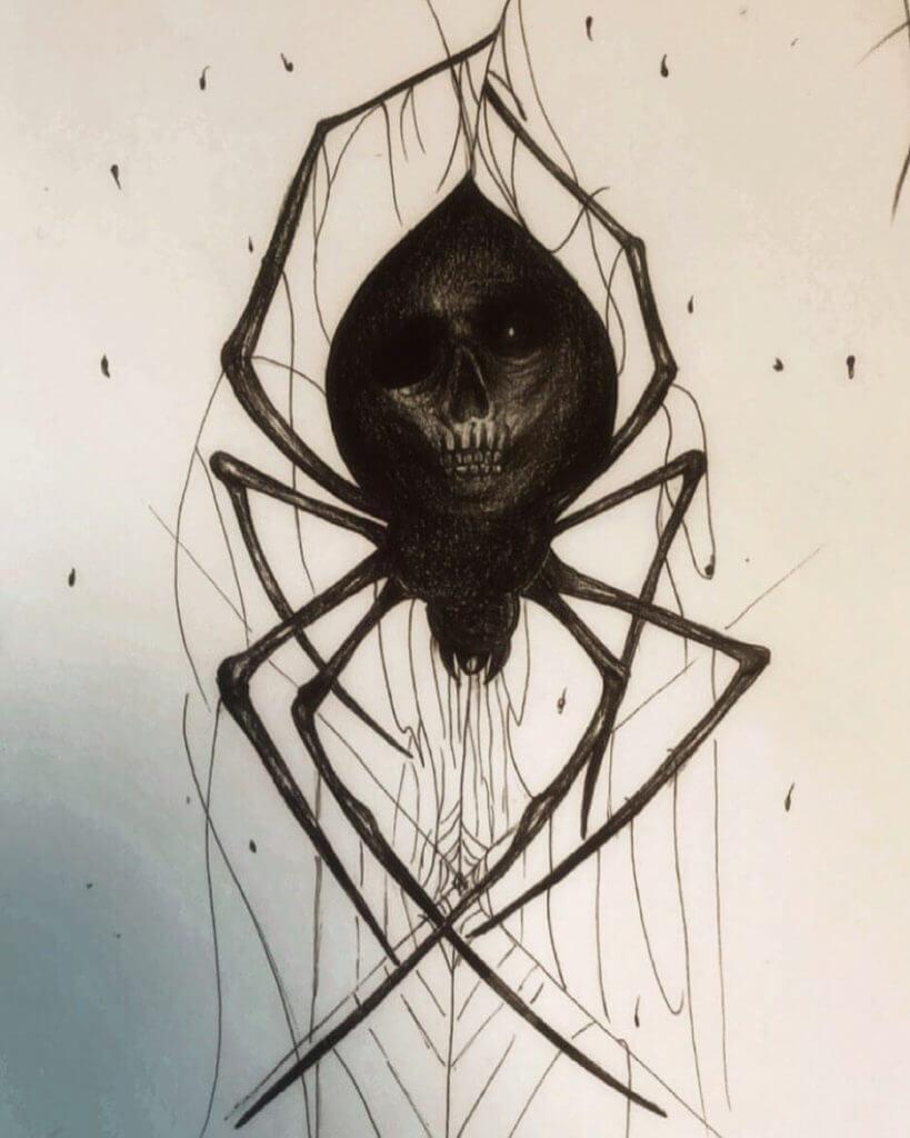 Значение паук на плече Что означает татуировка паук?