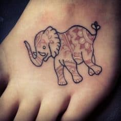 Elephant Tattoo Meaning 1