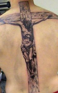Cross Tattoo 6