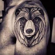 Bear Tattoo 1
