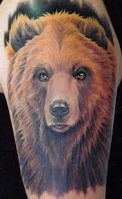 Bear Tattoo 8