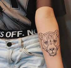 Lioness Tattoo Meaning 12