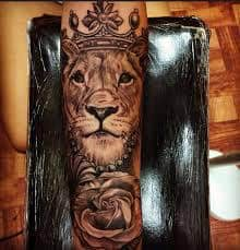 Lioness Tattoo Meaning 18