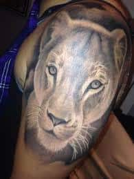 Lioness Tattoo Meaning 20