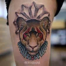 Lioness Tattoo Meaning 8