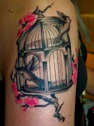 Birdcage Tattoo Meaning 16