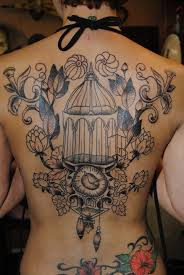 Birdcage Tattoo Meaning 20