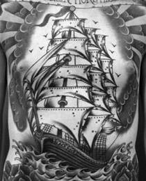 Алые паруса тату значение