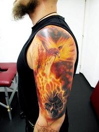 Значение татуировки феникса