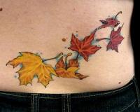 значение татуировки листья