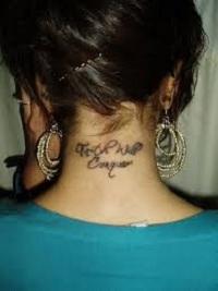 Значение тату на шее