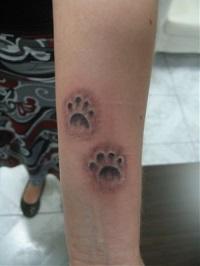 значение татуировки лапок