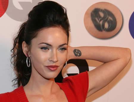 фото татуировки меган фокс
