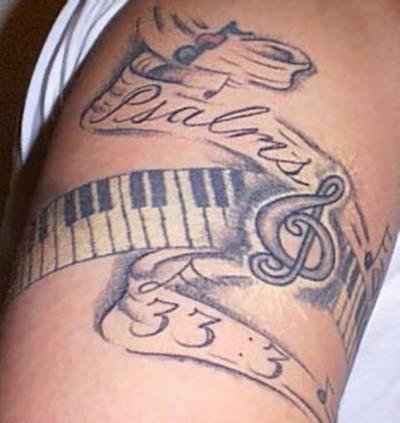 Скрипичный ключ тату значения