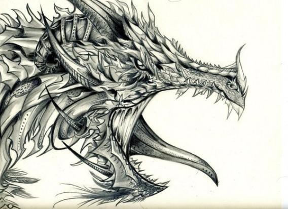 Тату головы дракона значение тату