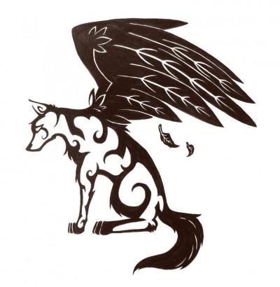 дьявол волк фото