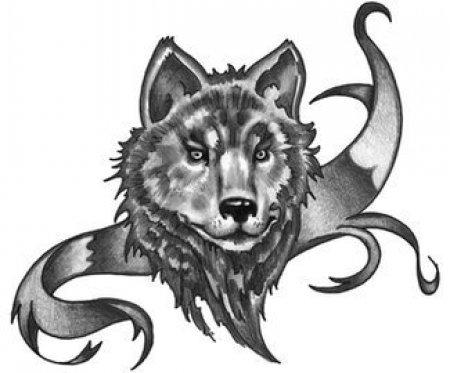 Значение тату волки