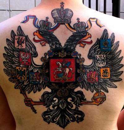 Тату с гербом