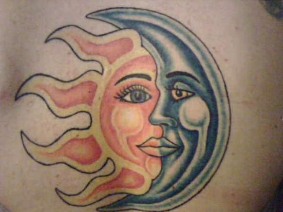 Значение тату луна значение тату на