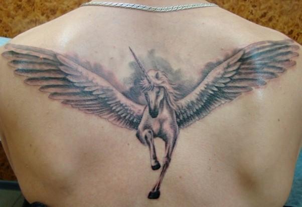 рисунки на спине: