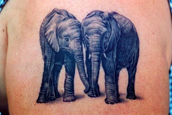 Значение тату слоны значение тату на