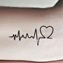 Как нарисовать пульс на руке