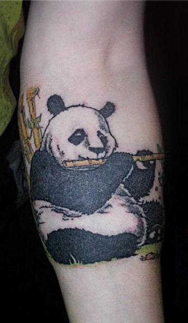 Тату панды значение тату на руке