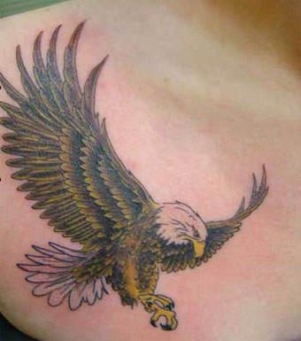 Эскизы татуировок на груди