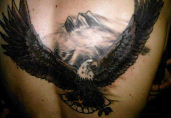 татуировка орел на груди - Эскизы татуировок