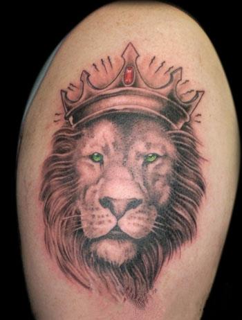 Тату львы значение тату на плече