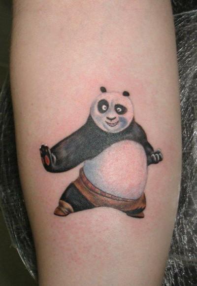 Тату панды значение тату на ноге