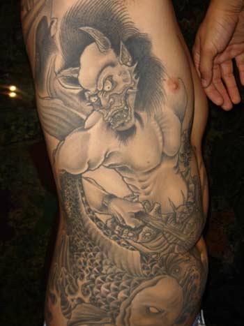 Значение тату демон значение тату