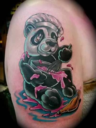 Значение тату панды значение тату на