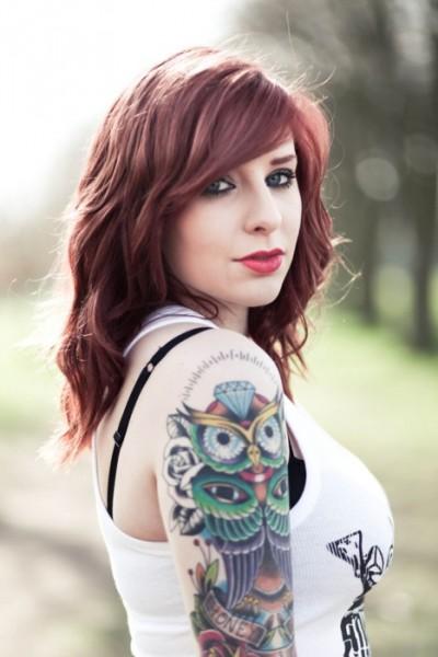 Татуировок сова татуировка