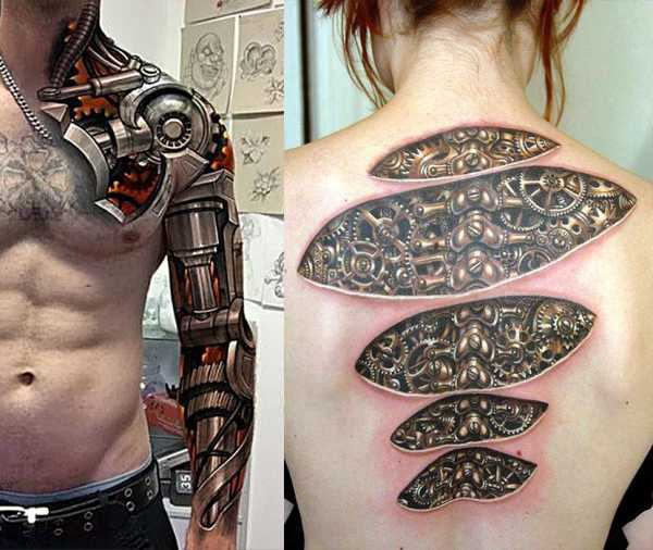 Значение татуировки шестеренки   Искусство татуировки! Татуировки ...   506x600