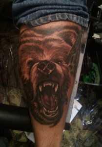 амулет зуб медведя гризли